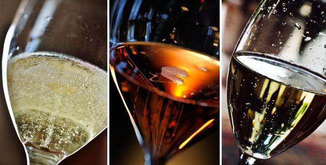 champagne et vin